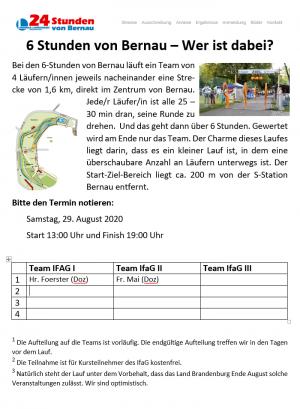 6 Stunden von Bernau